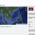 地圖_柬埔寨世界遺產