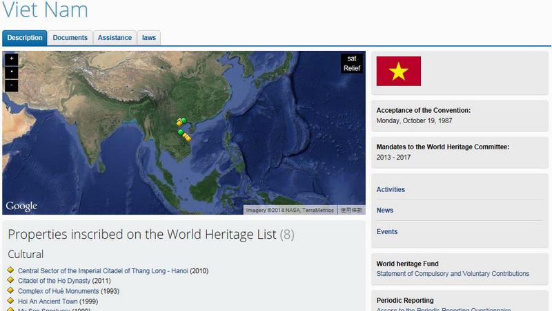 地圖_越南世界遺產