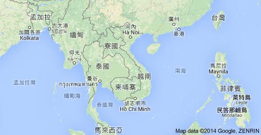 地圖_越南
