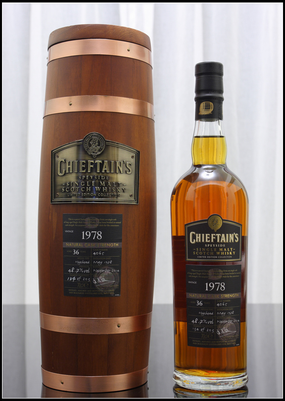 蘇格蘭老酋長單一麥芽威士忌1978