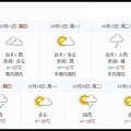 九寨溝一周天氣預報