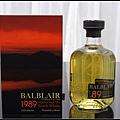 巴布萊爾1989年單一純麥威士忌