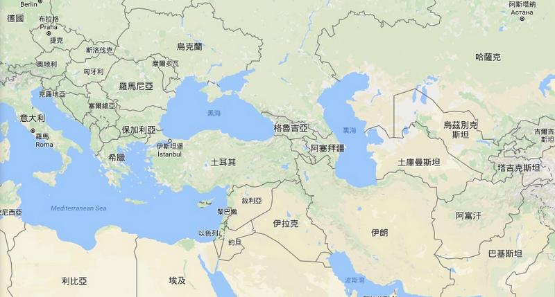 地圖_土耳其