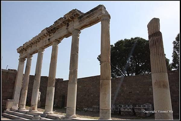 貝加蒙廢墟遺址(BERGAMA AKROPOL ÖRENYERİ/BERGAMA ACROPOLIS ARCHAEOLOGICAL SITE)11