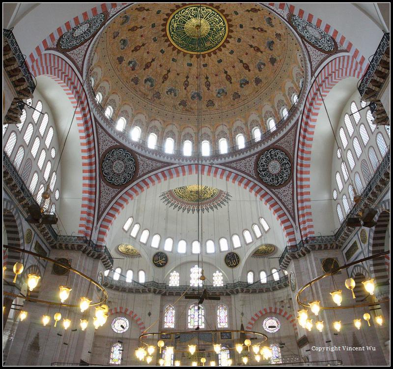 蘇萊曼清真寺(SÜLEYMANİYE CAMİİ/SÜLEYMANİYE MOSQUE)17