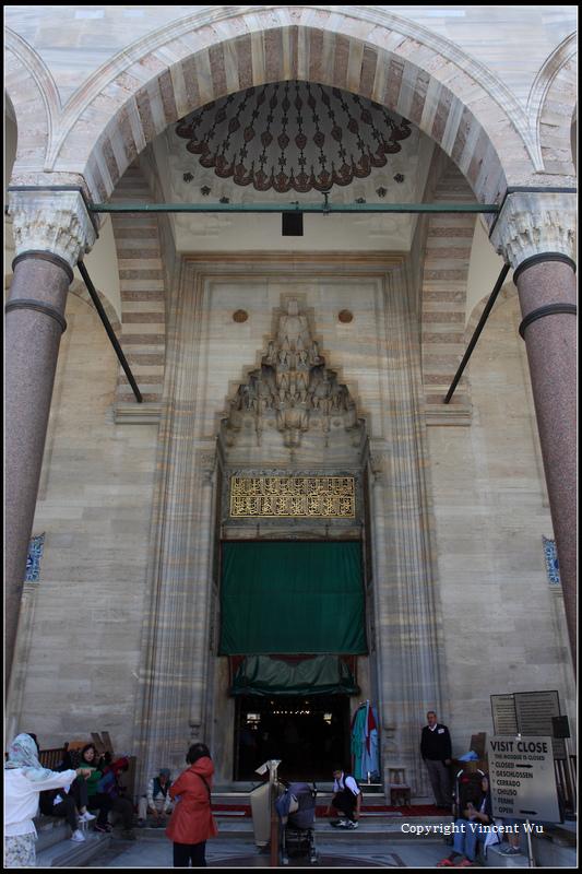 蘇萊曼清真寺(SÜLEYMANİYE CAMİİ/SÜLEYMANİYE MOSQUE)22