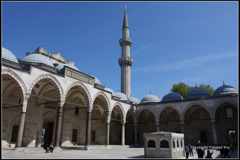 蘇萊曼清真寺(SÜLEYMANİYE CAMİİ/SÜLEYMANİYE MOSQUE)26
