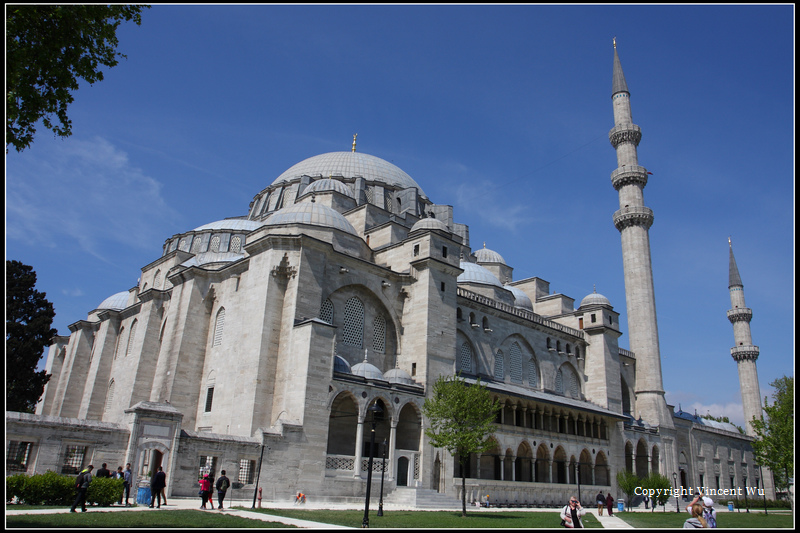 蘇萊曼清真寺(SÜLEYMANİYE CAMİİ/SÜLEYMANİYE MOSQUE)35