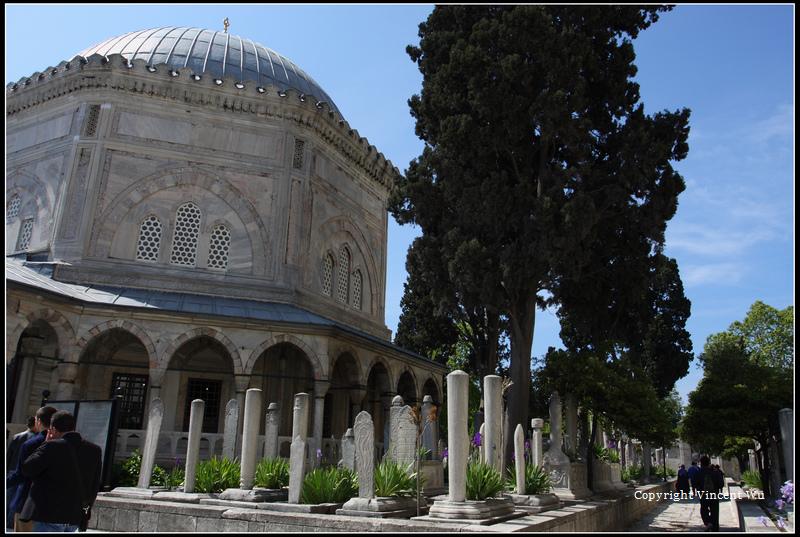蘇萊曼清真寺(SÜLEYMANİYE CAMİİ/SÜLEYMANİYE MOSQUE)36
