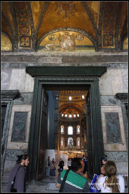 聖索菲亞大教堂(AYASOFYA MÜZESİ/HAGIA SOPHIA MUSEUM)02