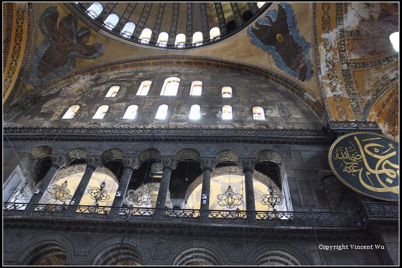 聖索菲亞大教堂(AYASOFYA MÜZESİ/HAGIA SOPHIA MUSEUM)08