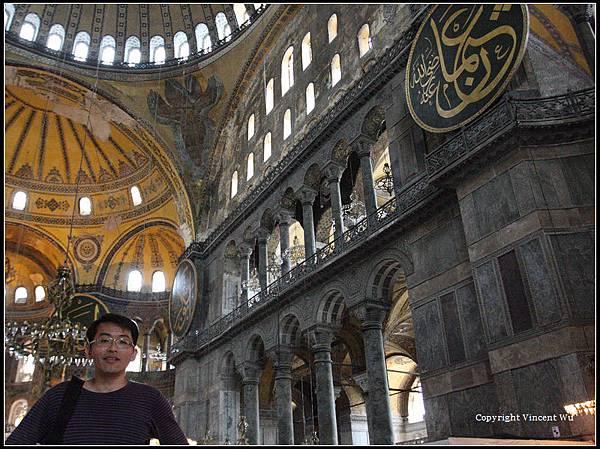聖索菲亞大教堂(AYASOFYA MÜZESİ/HAGIA SOPHIA MUSEUM)09