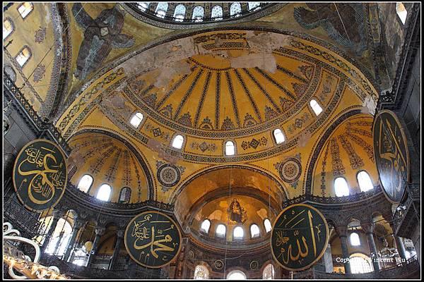 聖索菲亞大教堂(AYASOFYA MÜZESİ/HAGIA SOPHIA MUSEUM)10