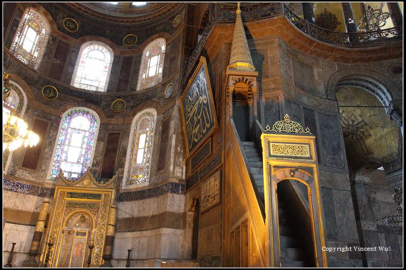 聖索菲亞大教堂(AYASOFYA MÜZESİ/HAGIA SOPHIA MUSEUM)15