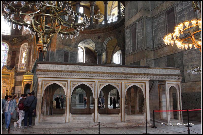聖索菲亞大教堂(AYASOFYA MÜZESİ/HAGIA SOPHIA MUSEUM)18