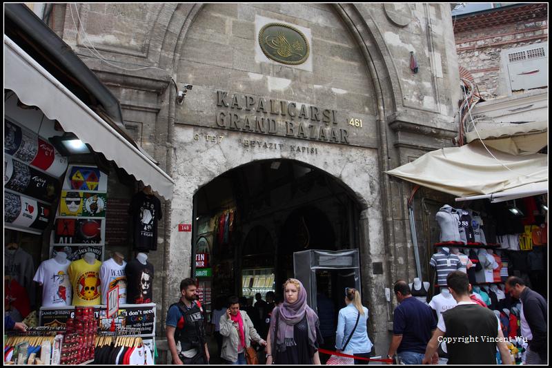 傳統大市集(KAPALIÇARŞI/GRAND BAZAAR)10