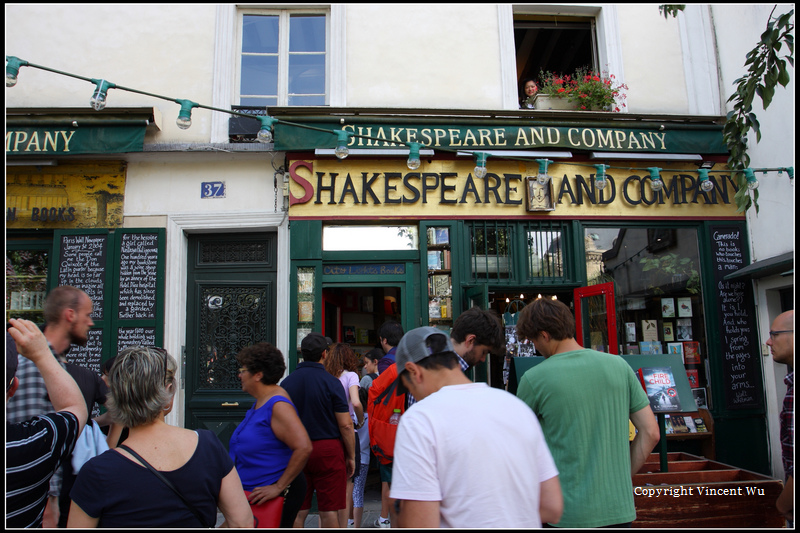 莎士比亞書店(SHAKESPEARE AND COMPANY)