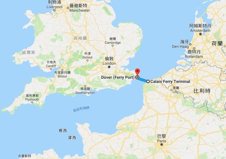 地圖_英吉利海峽