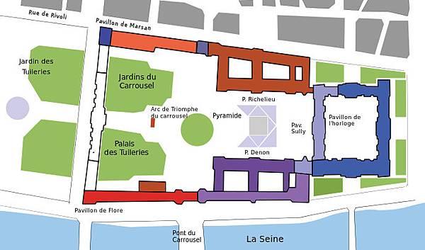 地圖_羅浮宮