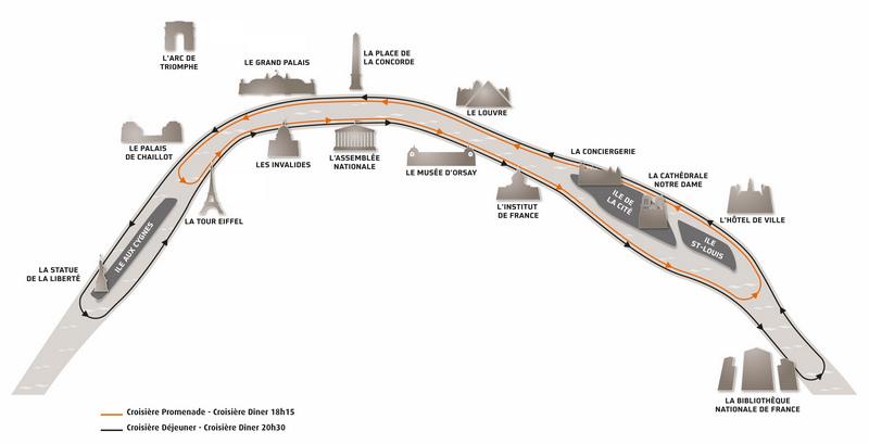 地圖_塞納河遊船