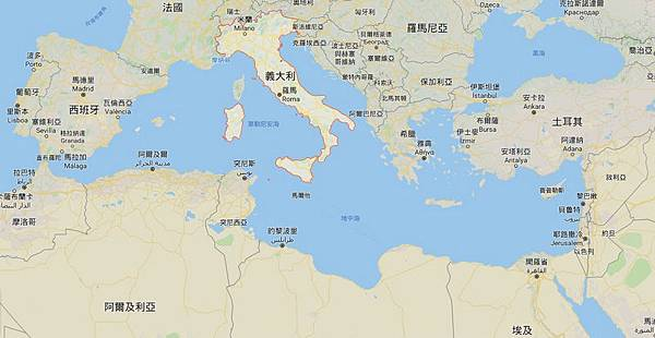 地圖_義大利