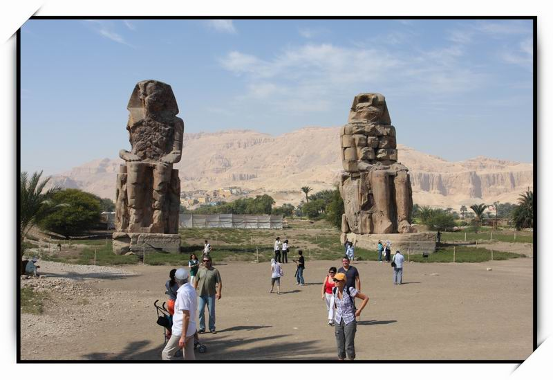 曼儂巨像(Colossi of Memnon)01