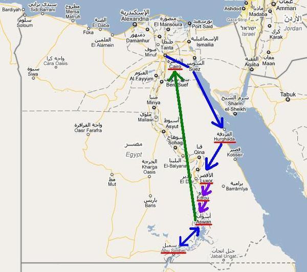 地圖_埃及行跡