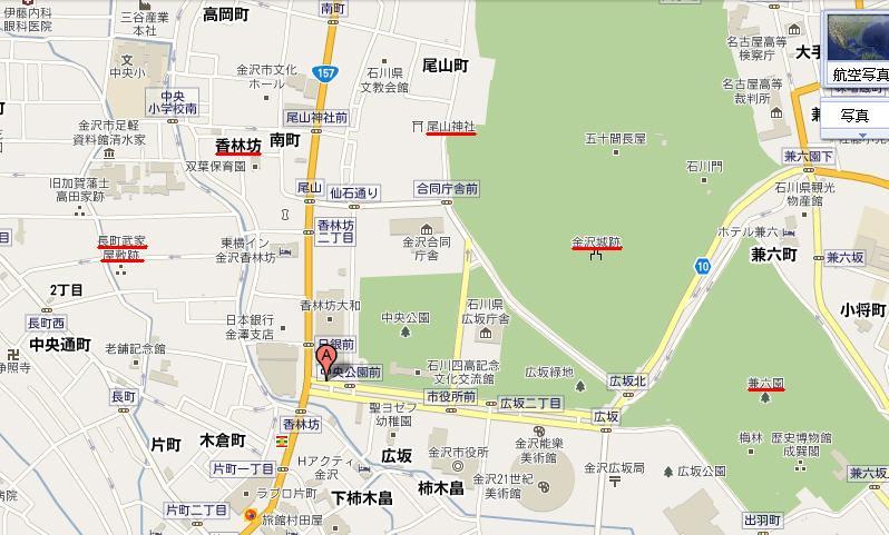 地圖_金澤