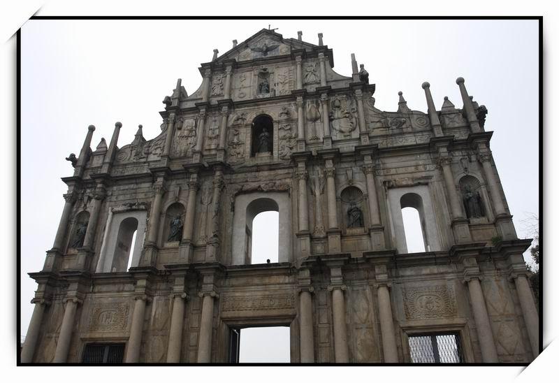 大三巴牌坊(Ruins of St. Paul's)02