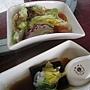 20110521玻璃屋_04海藻生菜沙拉+手工芝麻豆腐.jpg