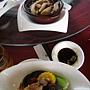 20110521玻璃屋_06百菇竹筍紅棗枸杞湯+杏鮑菇玉米香菇湯匙菜.jpg