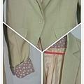 百搭芥黃綠西裝外套