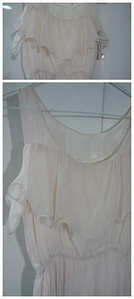 雪紡荷葉邊洋裝