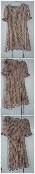 復古圓點小洋裝