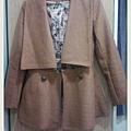 正韓個性短版大衣