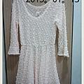 氣質又可愛透視小洋裝