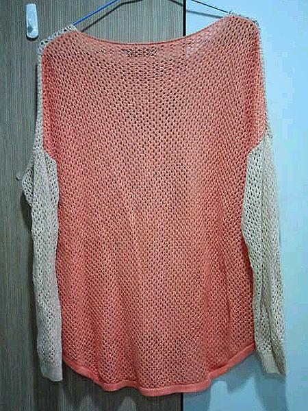 糖果色針織毛衣
