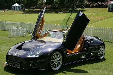 Spyker C8在倫敦車展秀場.jpg