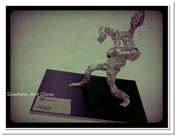人體金屬雕塑 (2)