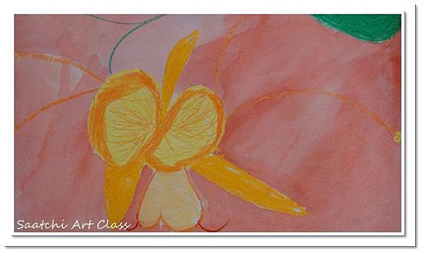 蝴蝶蘭水彩畫 (14)