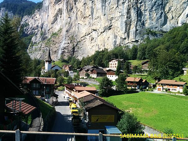 瑞士阿爾卑斯山村莊