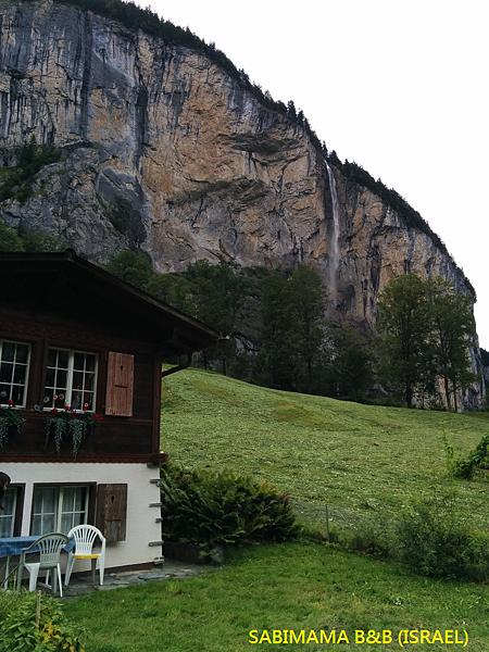 瑞士阿爾卑斯山民宿