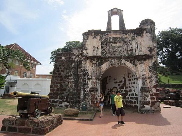 馬六甲古城門