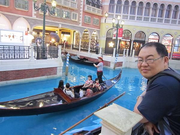 威尼斯人 貢多拉遊船