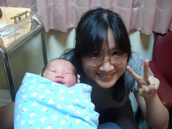 和阿姨的第一次合照
