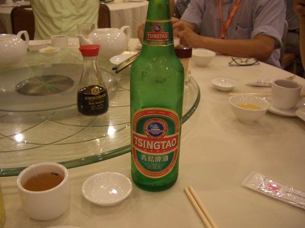 先來個青島啤酒