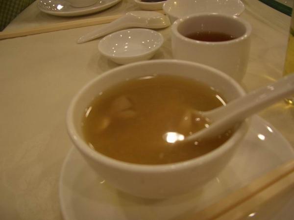 杏汁燉豬肺