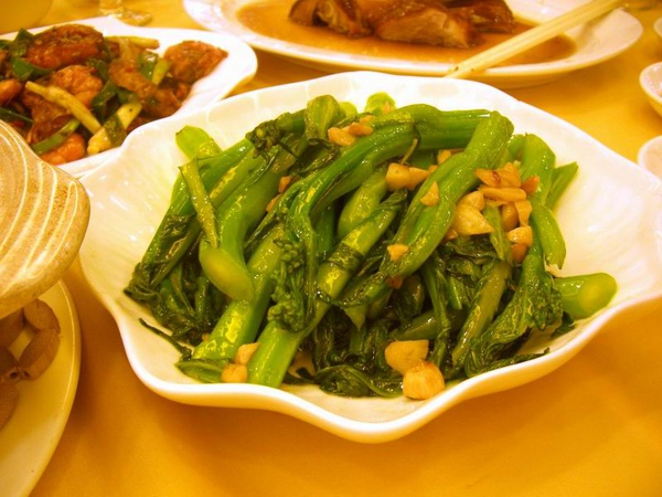 蒜蓉炒介藍