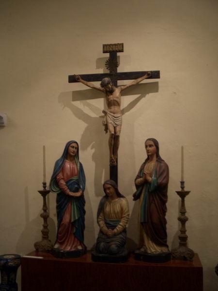 聖物寶庫 受難木雕