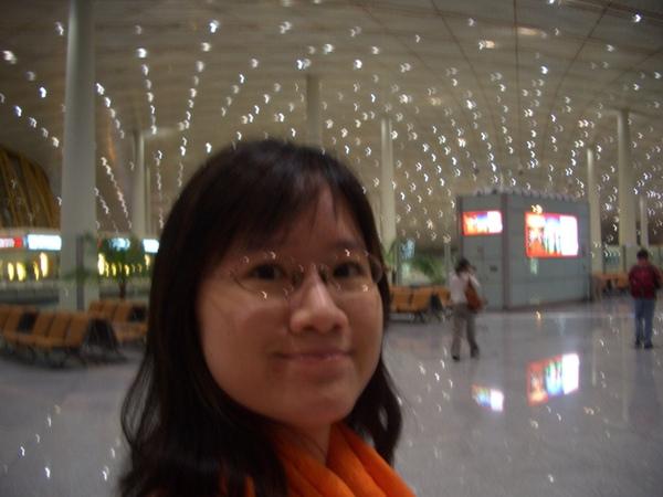 北京。首都機場
